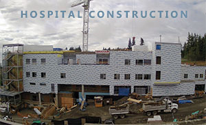 Campbell River Hospital Construction