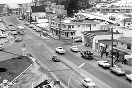 History Image of downtown Campbell River