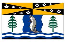 Campbell River British Columbia Flag
