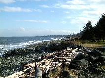 Campbell River beach